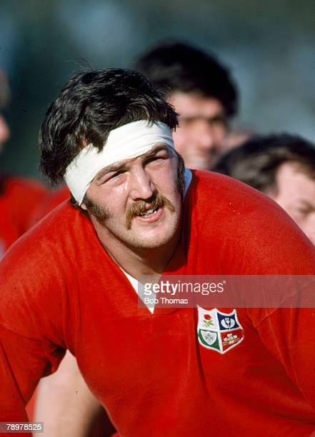 1980 Alan Tomes British Lions who was a Scotland international player playing for Scotland 48 times between 19761987