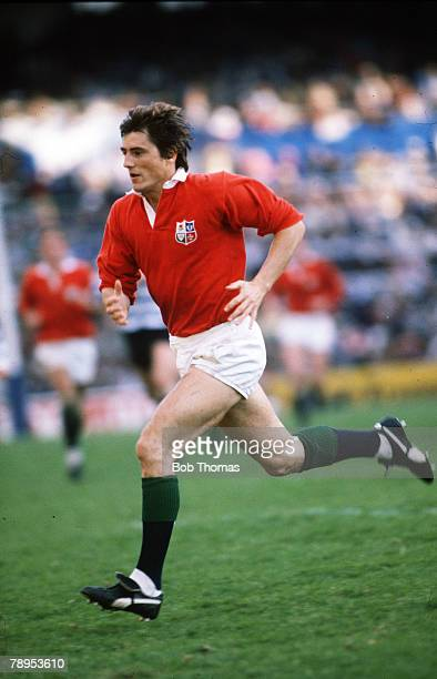 1980 British Lions Tour to South Africa Andy Irvine British Lions full back