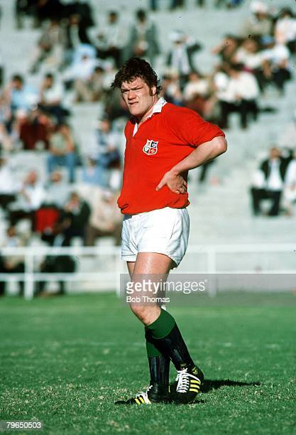 1980 British Lions tour to South Africa Fran Cotton British Lions forward