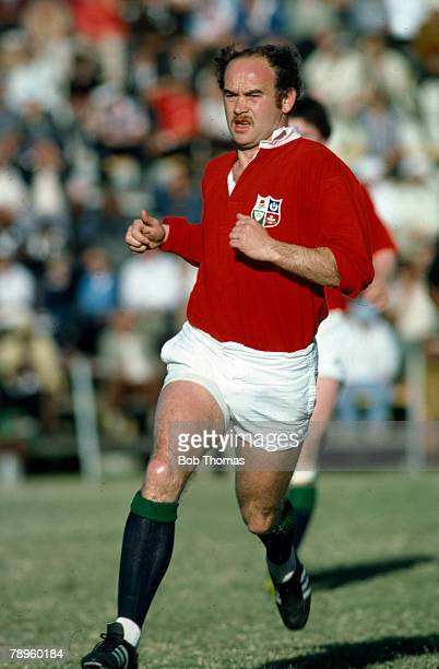 1980 Jim Renwick British Lions centre Jim Renwick played in 52 international matches for Scotland between 19721984