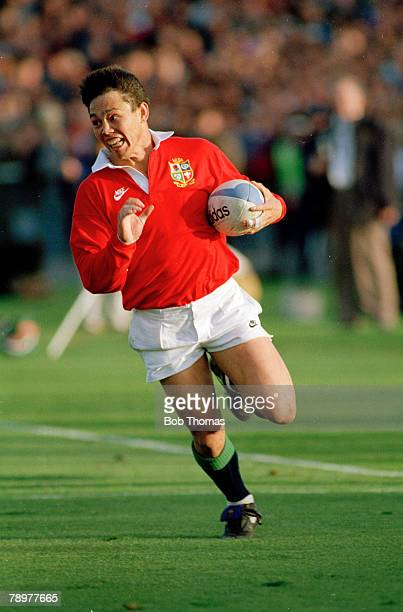 1993 New Zealand v British Lions British Lions wing Rory Underwood racing at full speed Rory Underwood also played in 85 international matches for...