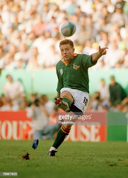 1995 Rugby Union World Cup in South Africa Joel Stransky South Africa