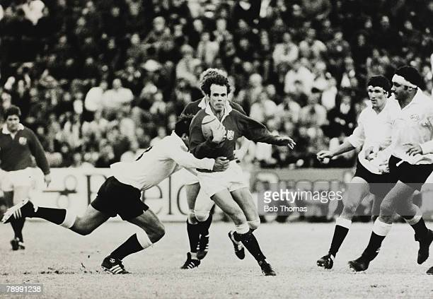 Sport, Rugby Union, pic: 21st May 1980, British Lions Tour of South Africa, South African Invitation XV v British Lions in Potchefstroom, British...