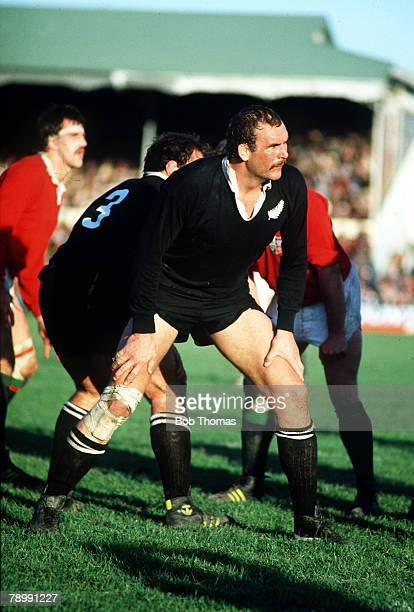 4th June 1983 Lions Tour of New Zealand Christchurch New Zealand 16 v British Lions 12 New Zealand All Black Andy Haden