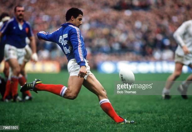 4th March 1989 Five Nations Championship Twickenham England 11 v France 0 Serge Blanco France