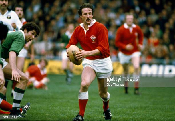Sport, Rugby Union, pic: circa 1980, Paul Ringer, Wales flanker, who played for Wales in 8 matches between 1978-1980