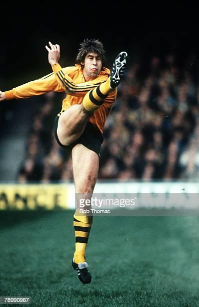 circa 1981 International Match Australia's Roger Gould in action