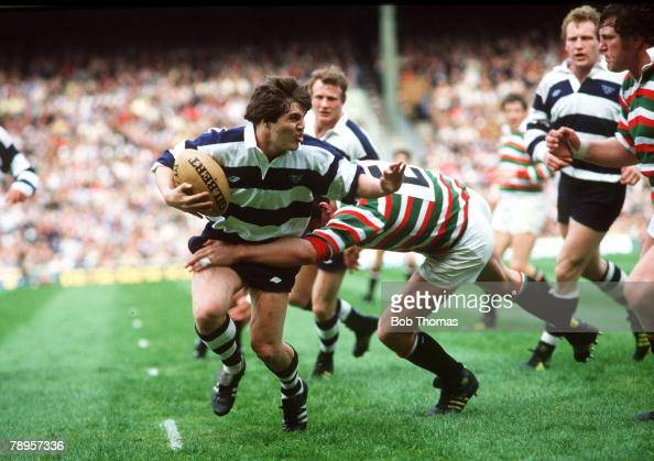 Sport Rugby Union Pic 30th April 1983 John Player Cup