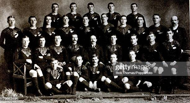 Sport Rugby Union The New Zealand 'All Blacks' that toured Britain in 1905