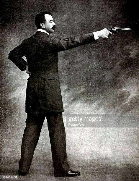 Sport, Shooting, 1900 Olympic Games, Paris, France, The King of Shooting, France competition, Louis Chauchat, France