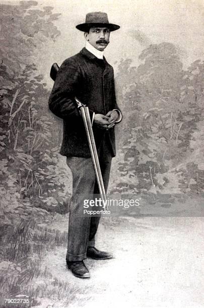Sport, Shooting, 1900 Olympic Games, Paris, France, Trap, Shooting, Roger de Barbarin, the Gold medal winner