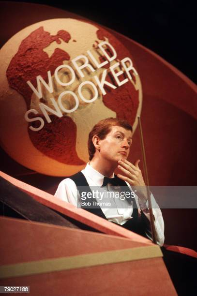 Sport Snooker World Championship Final The Crucible Sheffield England 2nd May 1988 England's Steve Davis