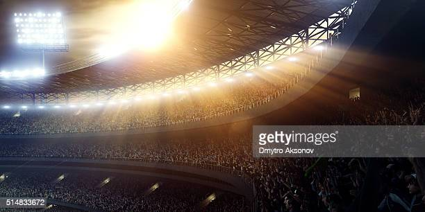 sport stadium tribunes - stadium stock pictures, royalty-free photos & images