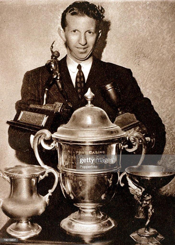 American Tennis Player Don Budge : News Photo