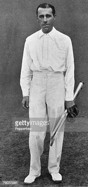 Sport Tennis Circa 1910 Norman E Brooks Wimbledon Men's Singles Champion 1907 and 1914