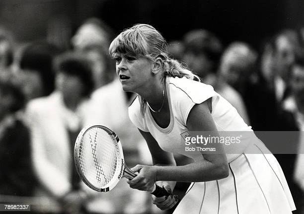1981 1981 Wimbledon Lawn Tennis Championships Sue Barker Great BritainSue Barker born 1956 was one of Britain's top women stars of the 1970's and won...