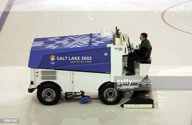 Zamboni Stock Photos And Pictures Getty Images