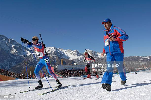 Sport, Winter Olympic Games, Torino, Italy, 10th - 26th February 2006, 11th February, Biathlon, Mens 20Km Individual, Sergei Tchepikov of Russia...