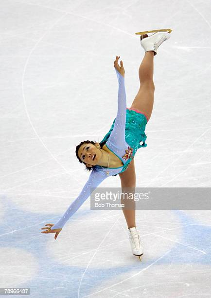 Sport Winter Olympic Games Torino Italy 10th 26th February 2006 23rd February Figure Skating Ladies Free Miki Ando of Japan