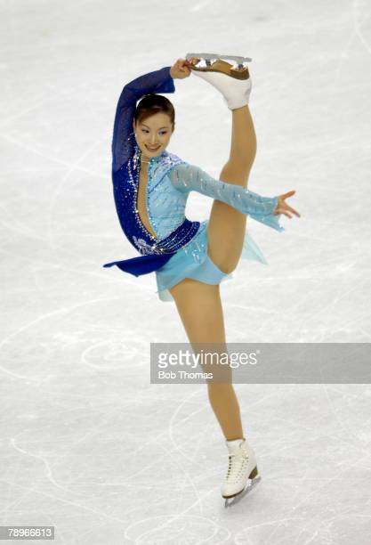 Sport Winter Olympic Games Torino Italy 10th 26th February 2006 23rd February Figure Skating Ladies Free Shizuka Arakawa of Japan