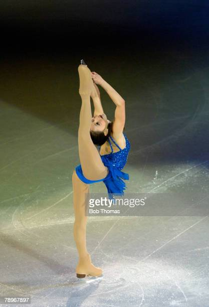 Sport Winter Olympic Games Torino Italy 10th 26th February 2006 24th February Figure Skating Gala Ladies Sasha Cohen of the USA Silver medal winner