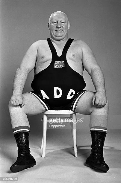 Sport, Wrestling, England, 13th February 1979, British wrestler Big Daddy