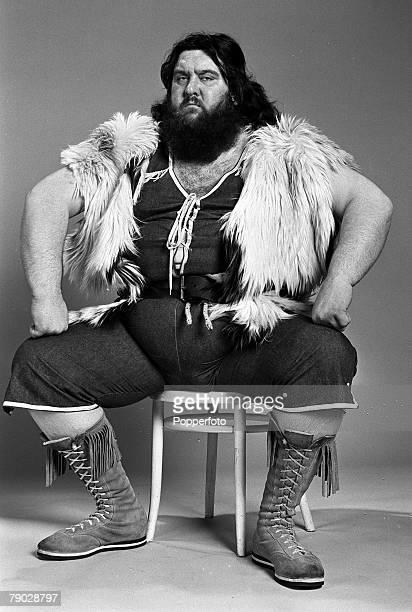 Sport Wrestling England 13th February 1979 British wrestler Giant Haystacks