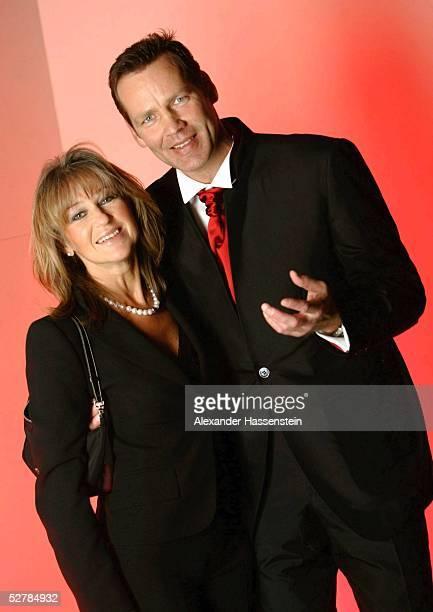 Sport/Diverse : Ball des Sports 2005, Frankfurt, 05.02.05;Henry MASKE/Boxen, mit Frau Manuela MASKE