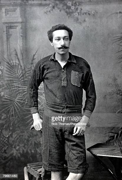 Sport/Football, circa 1896, Arthur Wharton, a goalkeeper of some note, who played for Preston North End and Rotherham United