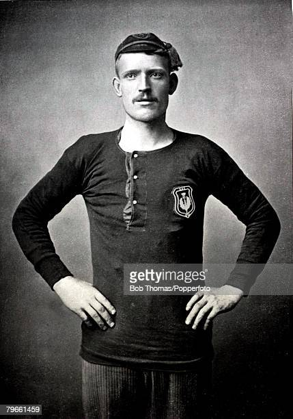 Sport/Football circa 1896 David Russell who played most of his career at Hearts where he won all his Scottish caps but having a short spell at...