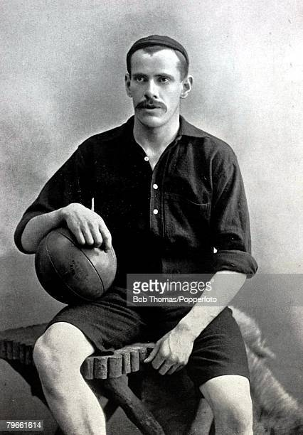 Sport/Football circa 1896 HStorer Woolwich Arsenal goalkeeper who played for the English League representative side