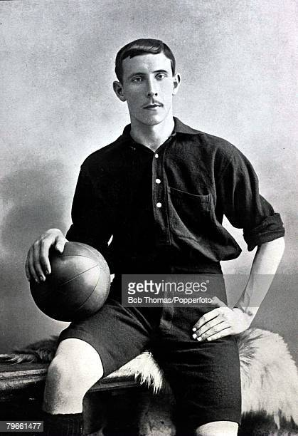 Sport/Football circa 1896 JCaldwell Scottish born he came south to play for Woolwich Arsenal