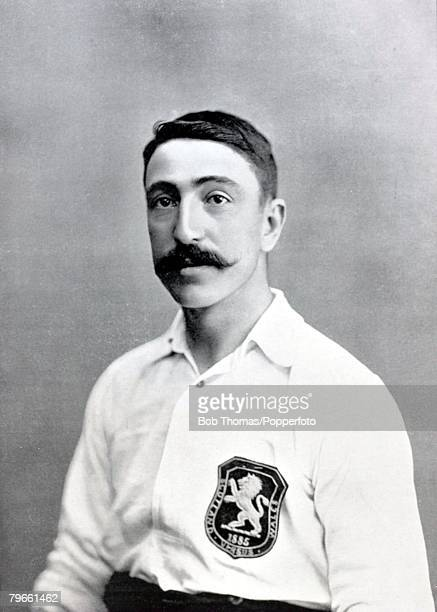Sport/Football circa 1896 RKelso who started his career at Renton in Scotland and winning 8 Scottish international caps He played south of the border...