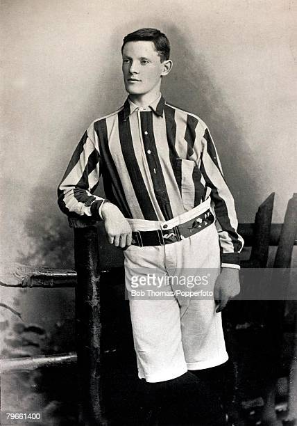Sport/Football circa 1896 WWilliams a full back who played for West Bromwich Albion