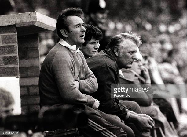 Sport/Football League Division One The City Ground England 27th August 1977 Nottingham Forest v Derby County Nottingham Forest Manager Brian Clough...