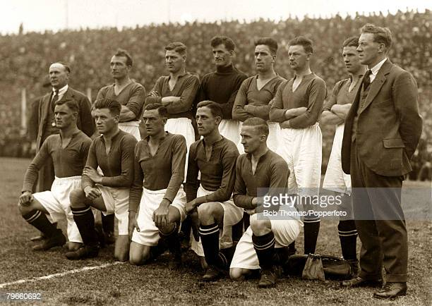 Sport/Football Motherwell Football Club on tour in Argentina May and June 1928 Photo shows Provinces 2 v Motherwell 1 May 17th 1928 The Motherwell...