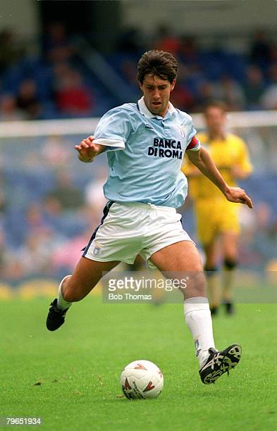 circa 1993 Italian Football Cristiano Bergodi Lazio