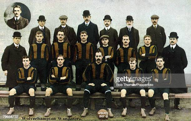 SportFootball Wolverhampton Wanderers 19071908 In 1908 Wolverhampton Wanderers won the English FACup providing a major shock when they beat the hot...