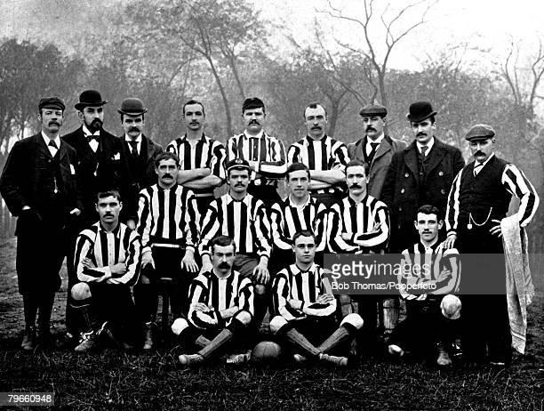 Sport/FootballNewcastle United circa 1896 Players included WMackay JHenderson JStott JClements JCollins RMcDermid RFoyer WMiller WGraham WWardrop...