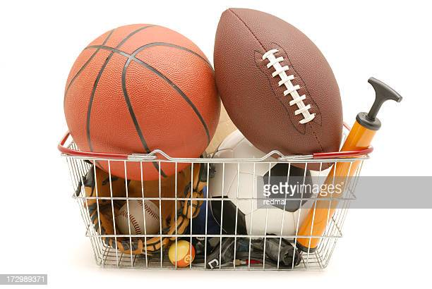 sporting basket - net sports equipment stock pictures, royalty-free photos & images