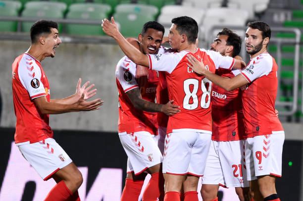 BGR: PFC Ludogorets Razgrad v Sporting Braga: Group F - UEFA Europa League