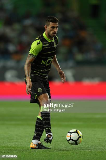 Sporting CP defender Cristiano Piccini from Italy during the Friendly match between Sporting CP and AS Monaco at Estadio Jose Alvalade on July 22...