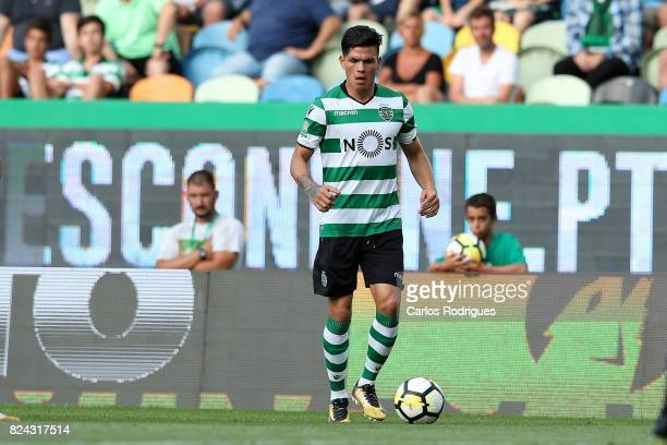 Sporting CP defender Jonathan Silva from Argentina during the Five Violins Trophy match between Sporting CP and AC Fiorentina at Estadio Jose...