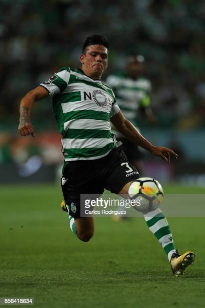 Sporting CP defender Jonathan Silva from Argentina during the Portuguese Primeira Liga round two match between Sporting CP and FC Porto at Estadio...
