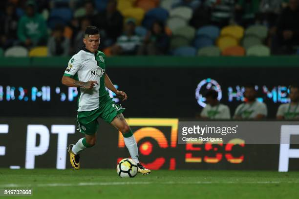 Sporting CP defender Jonathan Silva from Argentina during the match between Sporting CF v CS Maritimo for the Taca da Liga 2017/2018 at Estadio do...