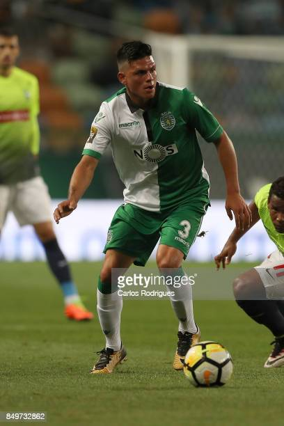 Sporting CP defender Jonathan Silva from Argentina during the match between Sporting CF v CS Maritimo for the Taca da Liga 2017/2018 at Estadio do...