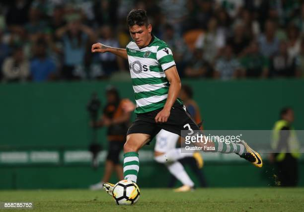 Sporting CP defender Jonathan Silva from Argentina in action during the Primeira Liga match between Sporting CP and FC Porto at Estadio Jose Alvalade...