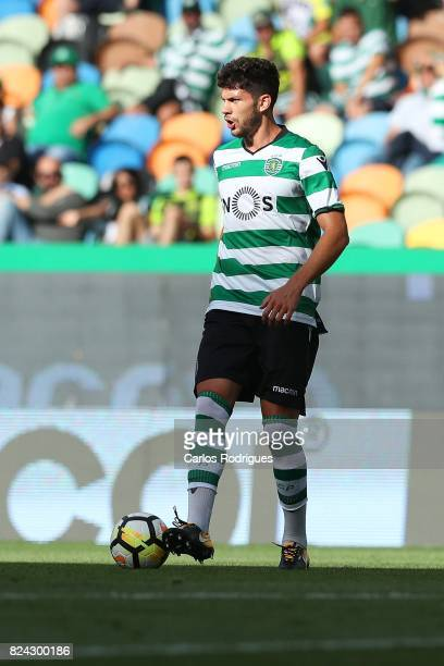 Sporting CP defender Tobias Figueiredo from Portugal during the Five Violins Trophy match between Sporting CP and AC Fiorentina at Estadio Jose...