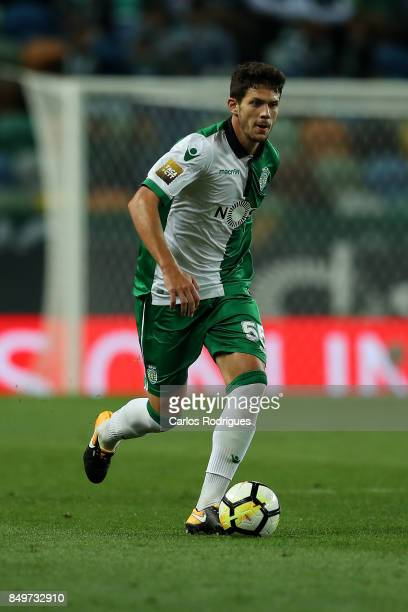 Sporting CP defender Tobias Figueiredo from Portugal during the match between Sporting CF v CS Maritimo for the Taca da Liga 2017/2018 at Estadio do...