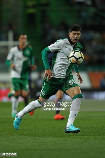 Sporting CP defender Tobias Figueiredo from Portugal during the match between Sporting CP and FC Famalicao for the Portuguese Cup at Estadio Jose...